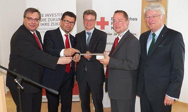 Pressefoto Einweihung Osterhofen