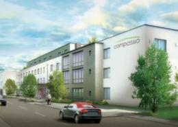 Außenvisualisierung Pflegeimmobilie Durmersheim