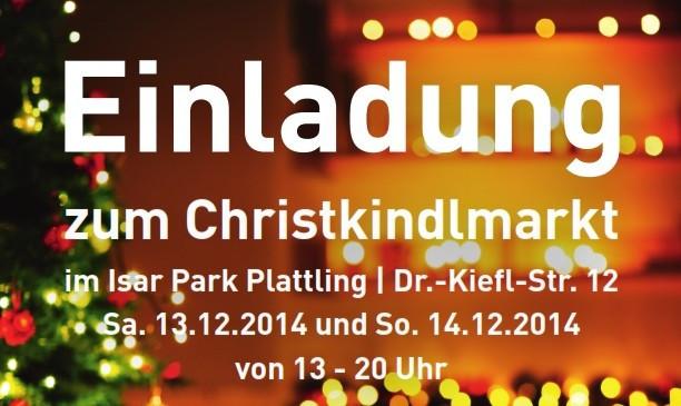 Einladung zum Christkindlmarkt