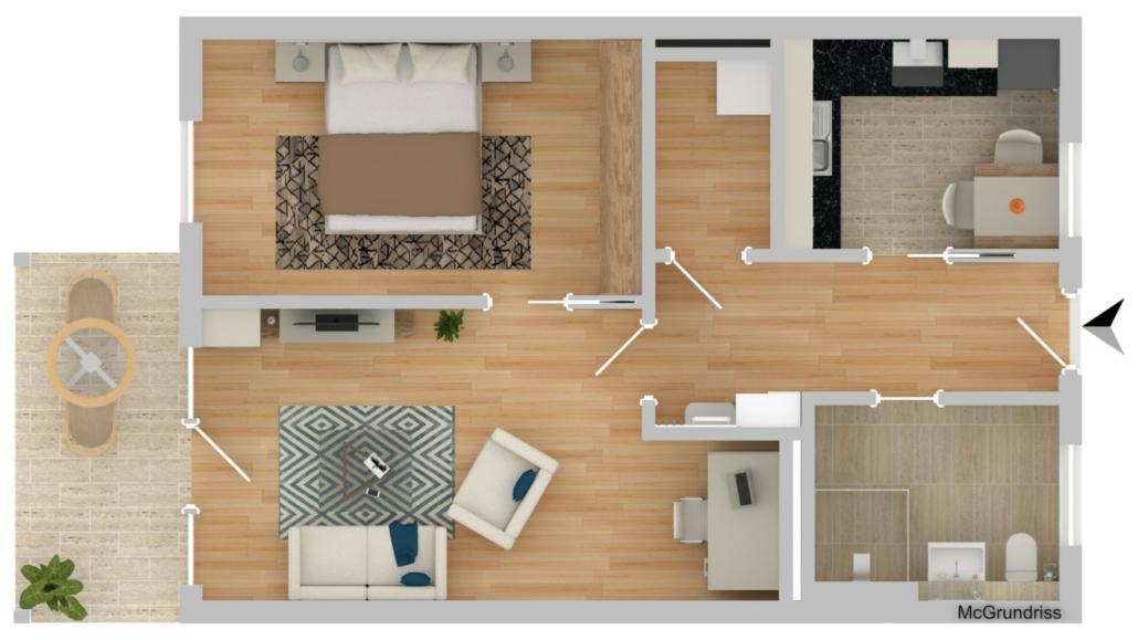 Wohnung Plattling