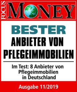 bester anbieter pflegeimmobilien focus money